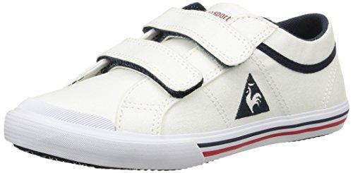 Le Coq Sportif Saint Gaetan Ps Cvs, Baskets Basses Mixte Enfant Blanc (Optical White)