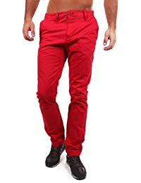 "Redbridge by Cipo & Baxx Chino Hose ""RB-190"" red"