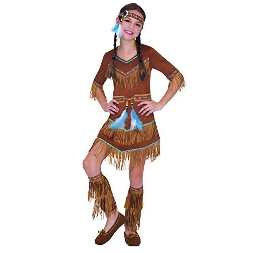 Christy's Girls Dream Catcher Native American Costume (4-6 Years) by ()