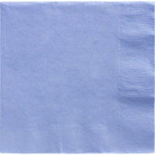 Amscan Servietten, 40 cm, zum Abendessen, 2-Lagig, Pastell-blau (Lunch Halloween Specials)