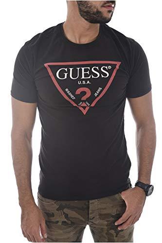 Guess Mens Schwarz T-Shirts XXL