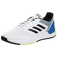 adidas Courtsmash, Men's Tennis Shoes, White (Ftwr White/Glory Blue), 43 1/3 EU