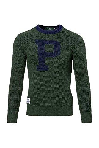 Beverly Hills Polo Club Maglioncino , uomo, Colore: Verde Scuro, Taglia: M