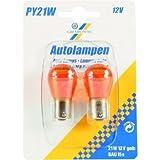 Motorrad Glühbirne / Leuchtmittel 12V 21W BAU15S G CT