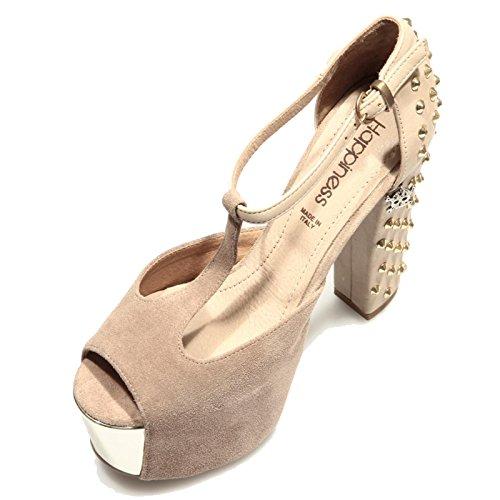 77778 sandalo HAPPINESS RENNA SABBIA scarpa donna shoes women [40]