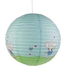 Niermann Standby 163 Pendelleuchte Papierballon Lolo Lombardo, Papier,mehrfarbig, 40 x 40 x 40 cm