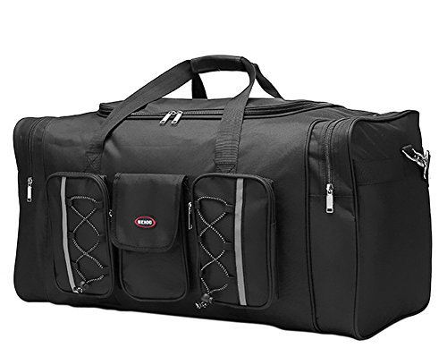 BXT Extra Large Heavy Duty Hand Luggage GYM Sports Shoulder Duffle Bag Travel Holiday Holdall Waterproof