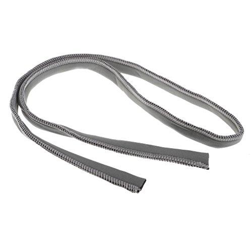 Sharplace Isolierter Neopren Trinkschlauch Abdeckung Cover Hülle - Grau