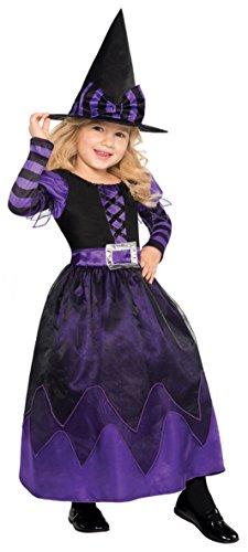Imagen de nueva amscan niños halloween ser witched niñas bruja fiesta de disfraces disfraz alternativa
