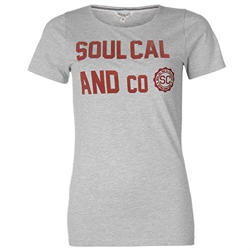 SoulCal - T-shirt - Femme Gris