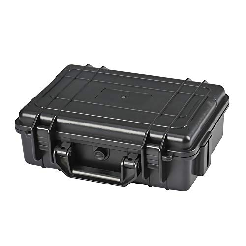 Lixada Werkzeugkoffer Basic leer ABS Kunststoff Werkzeugkiste Wasserdicht Versiegelte Sicherheit Ausrüstung Lager Werkzeug Container