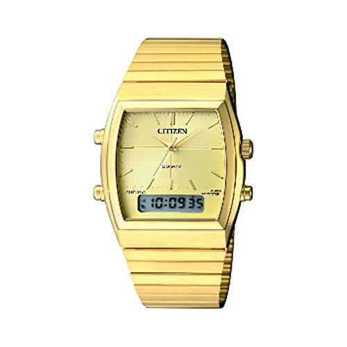 Citizen Analog-Digital Champagne Dial Men's Watch-JM0542-56P