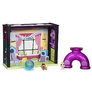 Littlest Pet Shop – A8543 – Salle Animo-Jeux – Décor a Assembler + Figurines
