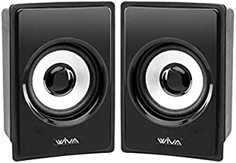 wiva Satellite Multimedia Speakers 2.0 Model wiva 001