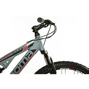 "Moma Bikes EQX 29"" - Bicicleta Montaña, SHIMANO 24V, Doble Freno Disco, Doble Susp. Talla L-XL (1.80-2.00m)"