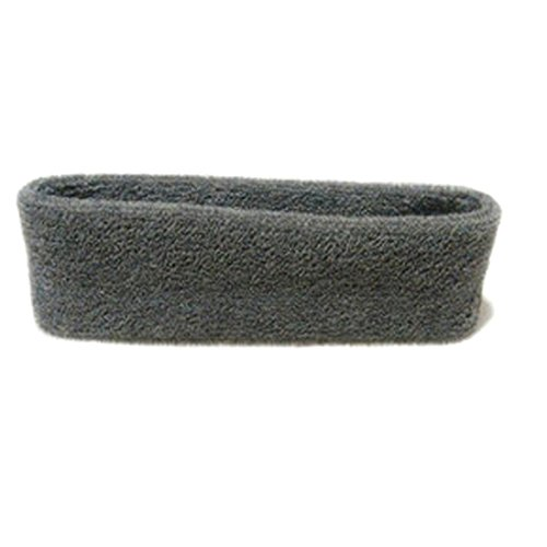Sports Yoga Gym Stretch Headband Head Band Hair Band Sweat Sweatband-Gray