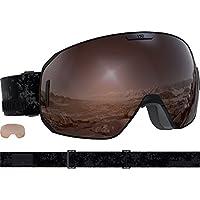 6ea72084880 Amazon.co.uk  Salomon - Goggles   Skiing  Sports   Outdoors
