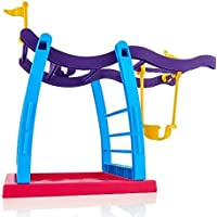 Fingerling Baby Monkey Toy Escalade Frame Climbing Stand Balanc?n Swing Set (Monkey no Esta Incluido)