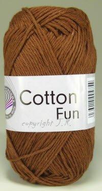 Häkelgarn Schulgarn Topflappengarn 100% Baumwolle Cotton-fun Farbe 14 Braun