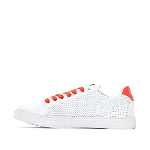 Basket Kaporal Krisla Blanc Orange Blanc