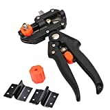 #1: Rrimin Garden Fruit Tree Pruning Shears Scissor Grafting Cutting Tool + 2 Blades