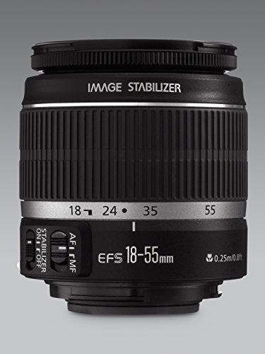 Canon EF-S 18-55mm F/3.5-5.6 1:3.5-5.6 IS Zoom Lens for Canon DSLR Camera