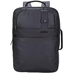 Arctic Hunter Laptop Rucksack für Männer - Ideal für Reisen, Arbeit, Schule, Schwarz