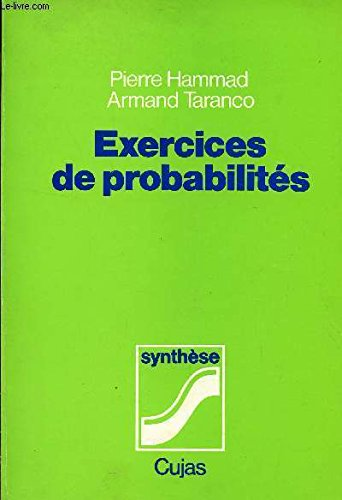 Exercices de probabilits