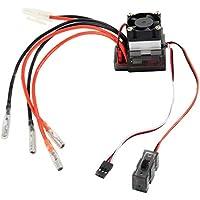 Wildlead Controlador de Velocidad ESC de Alto Voltaje Cepillado 320A para automóvil en Carretera RC 1/10 4WD