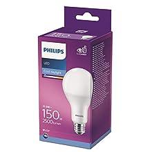 Philips Lighting Lampadina LED Goccia 150W Attacco E27, 6500K, Luce Fredda, Non Dimmerabile 17.5 W