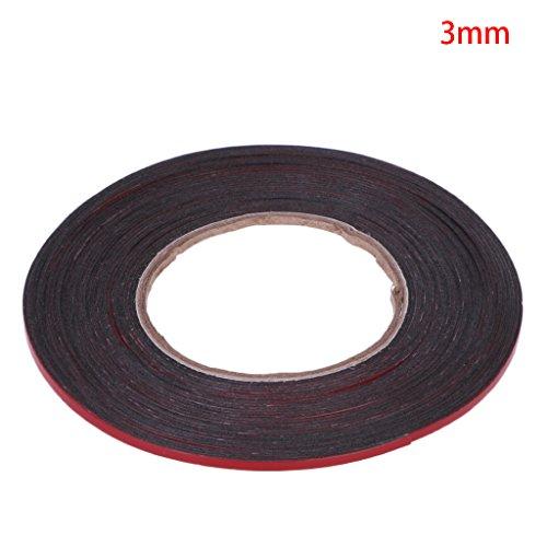 Fxco 3–20mm 25M Rojo Cinta adhesiva doble