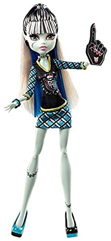 Mattel Monster High BDF08 - Monster-Fan Frankie Stein, Puppe (Monster High Puppen Deuce)