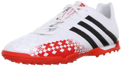 adidas P Absolado LZ TRX TF J Q21682 Unisex-Kinder Fußballschuhe Weiß (Running White/Hi-Res Orange F13/Black)