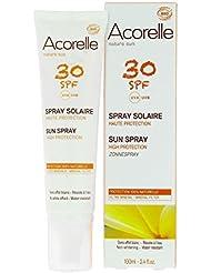 Acorelle - Spray Solaire Spf 30 Bio - Livraison Gratuite pour les commandes en France - Prix Par Unité