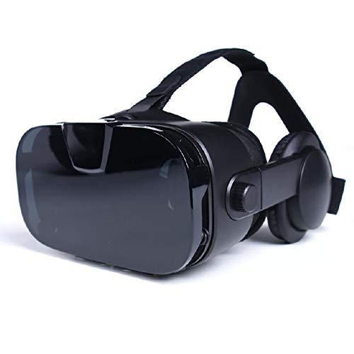 MIJIN Smart Glasses, Virtual Reality 3D Brille Headset Handy Theater Spiel Helm Original Brille Vr Brille,Black -