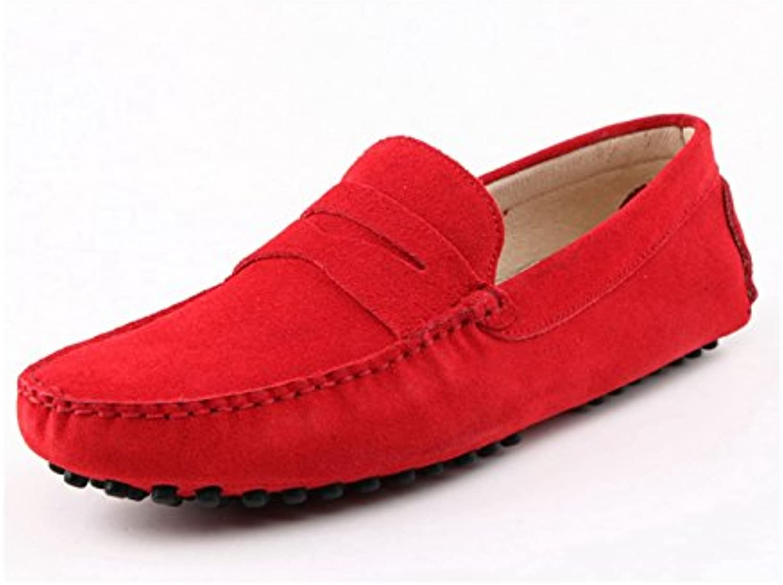 Minitoo    Herren Durchgaumlngies Plateau Sandalen mit Keilabsatz   rot   rot   Größe: 39.5
