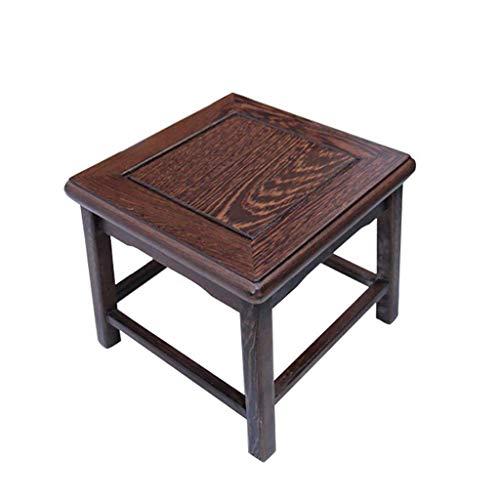 SEEKSUNG Fußbank Mahagoni-Möbel aus Palisander kleinen Hocker/Hühnerflügel aus Holz Kinderhocker/Massivholz kleinen Hocker/Ändern Schuhe Fußwaschung Hocker Sofa Hocker -