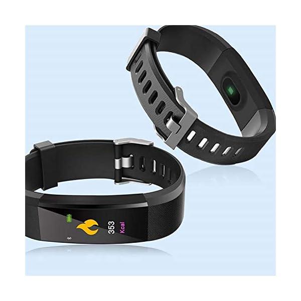 Maju Smartfit Fitness Tracker - Pulsera de actividad para fitness, con corazón, color rojo 8