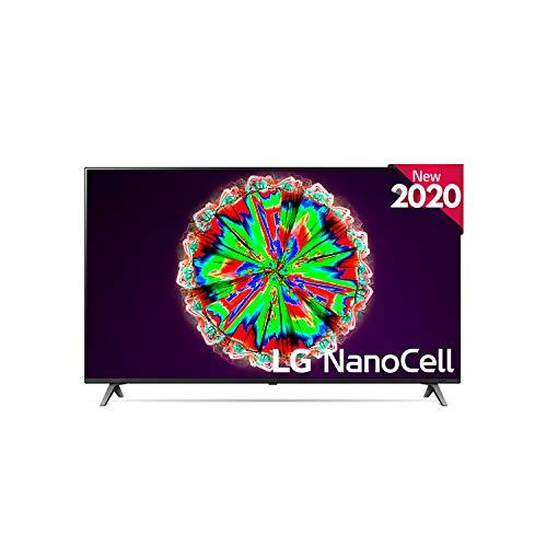"Oferta de LG 49NANO80 - Smart TV 4K NanoCell 123 cm, 49"" con Inteligencia Artificial, Procesador Inteligente Quad Core, Deep Learning, Local Dimming, HDR 10 Pro, HLG, Sonido Ultra Surround, Compatible con Alexa"