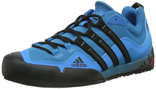 new style 8f15d 6dbcd adidas Terrex Swift Solo D67033, Chaussures Multisport Outdoor Homme, Bleu ( Blue, 41