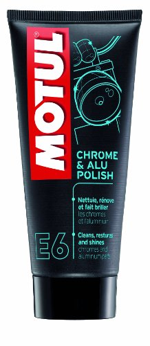 Motul 103001 E6 Chrome & Alu Polish, 100 ml