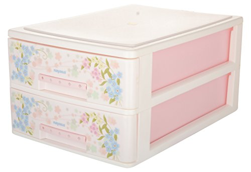Nayasa Tuckins 12, 2 Piece Drawer, Deluxe, Pink