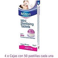 Pastillas Esterilizadoras Mini Milton, 200 unidades - Pastillas para esterilizar y desinfectar la Copa Menstrual