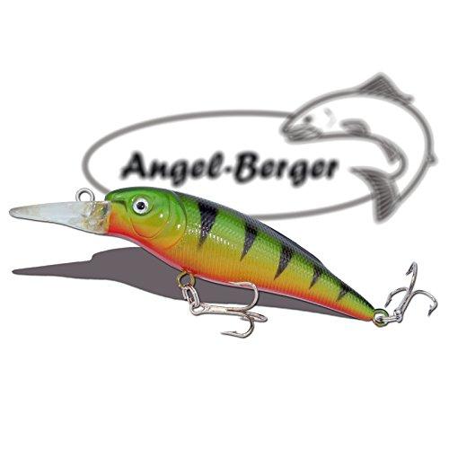 Deep Shad 3D Wobbler Barsch Angel Berger Hardbait