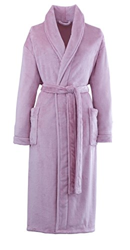 Price comparison product image Catherine Lansfield So Soft Home Bathrobe, Pink