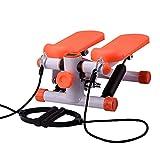 HAOHAOWU Stepper Hause Stumm Gewichtsverlust Maschine In Situ Klettern Fuß Maschine Multifunktions Fitnessgeräte Kleine Ofenrohr Maschine,Orangeb,43 * 30 * 20Cm