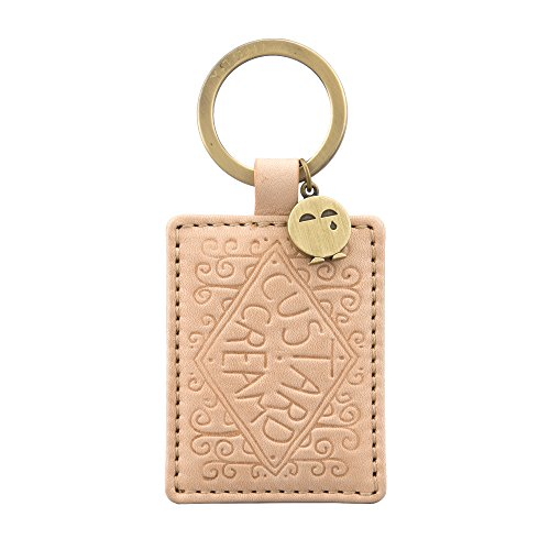 custard-cream-biscuit-leather-keyring-by-yoshi