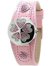 Betty Barclay Sweet day BB50157 - Reloj de mujer de cuarzo, correa de piel color rosa