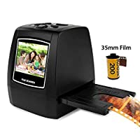 Rubik 5MP/ 10MP All-in-1 Film & Slide Scanner, Converts 35mm Films/Monochrome/Slides/Negatives to Digital JPG Photos,Photo Copier, 2.36 inch LCD Screen