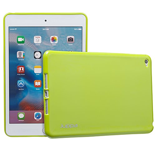 JUPPA ® 4, IPAD MINI CASES TPU GEL verde